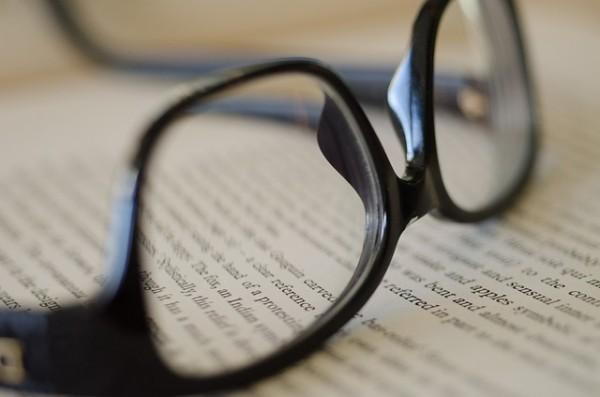 老眼鏡の度数