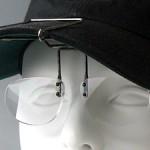 帽子専用の老眼鏡