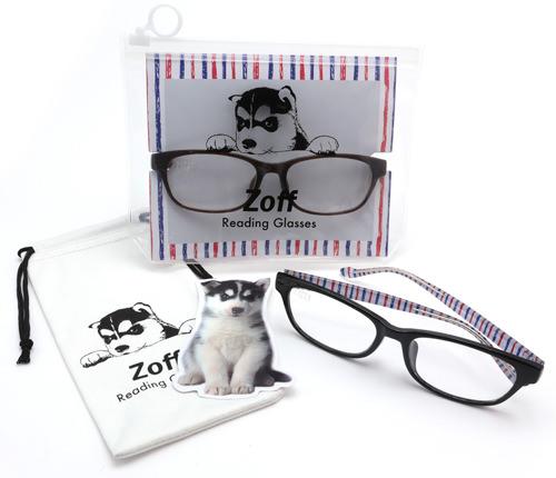 PCレンズ搭載「Zoff リーディング・グラス(老眼鏡)」