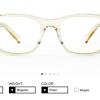 フォント選びとメガネ選びの親和性 フォントを選ぶような眼鏡「TYPE」